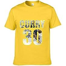 JJZHY Camiseta de Baloncesto Stephen Curry de Manga Corta de Baloncesto Superstar de la NBA Camiseta