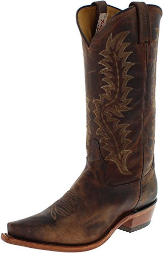 Tony Lama 6979 EE Tan/Herren Westernreitstiefel Braun/Herrenstiefel/Reitstiefel/Western Riding Boots, Groesse:45 (12 US) (Tony-lama-stiefeln)