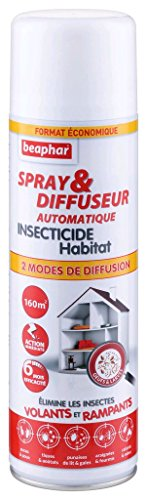 Beaphar - Spray/Diffuseur automatique insecticide -...