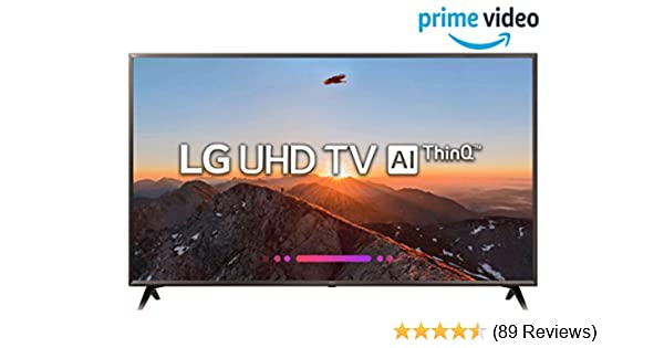 LG 123 cm (49 Inches) 4K UHD LED Smart TV 49UK6360PTE (Black) (2018 model)