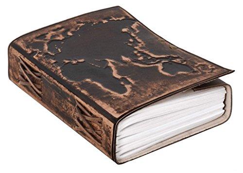 Notizbuch Gusti Leder 'Ronda' DIN B5 Lederbuch Notizblock Buch Tagebuch Skizzenbuch Lederaccessoire...