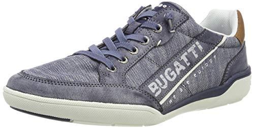 bugatti Herren 321465095000 Sneaker, Blau, 43 EU