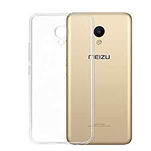 Pes Premium Quality Transparent Clear Soft Rubber Protective Back Case Cover for Meizu M5