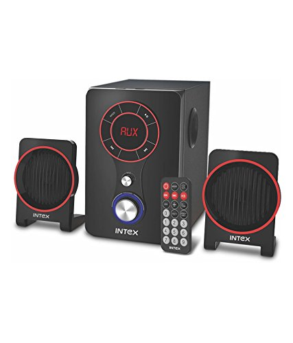 Intex IT-211 TUFB 2.1 Multimedia Speakers - Black