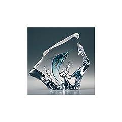 Idea Regalo - Swordfish. Fine cristallo svedese da Målerås vetreria.