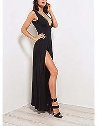 Amazon.it  bianco e nero - Huateng   Vestiti   Donna  Abbigliamento fa8f9250c20