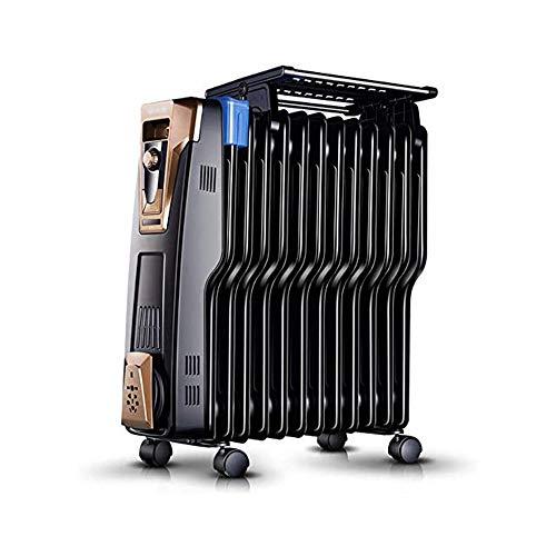 XKHG Radiatore,Radiatore Ad Olio - 2500W Radiatore Portatile A Olio, 13 Elementi con Tre Regolazioni Termiche E Controllo Termostato. Design Esclusivo.