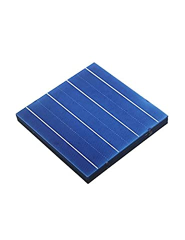 Vikocell 60pcs 270W photovoltaïque cellule solaire de polystyrène 156mm X 156mm pour DIY panneau solaire 4.5W / pc cadeau