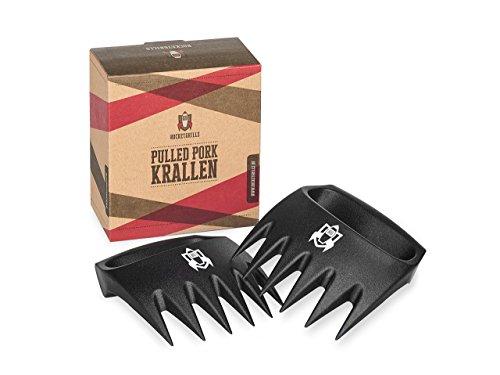 ROCKETGRILLS Pulled Pork Krallen - Hochwertige BBQ Meat Claws - Fleischkrallen