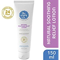 The Moms Co. Natural Soothing Relief Lotion for Very Dry, Sensitive or Redness and Rashes Prone Skin, Clinically Proven 24 Hour Moisturisation, 150 ml