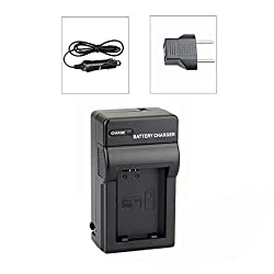 DSTE NP-FW50 DC107 Travel Charger Kit for Sony ILCE-5100L A5100 A6000 QX1 NEX-C3 F3 3N 5C Digital Camera Battery