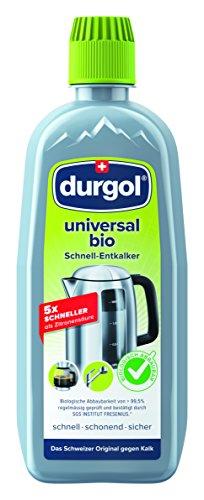 durgol universal bio - Détartrant bio spécial anti-calcaire pour tous les objets du ménage - Enlève le calcaire efficacement - Version française - 1 x 500ml