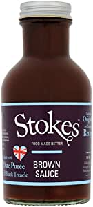 Stokes Brown Sauce 320 g (Pack of 3)