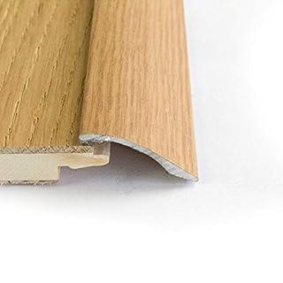 Self Adhesive Aluminium Door bar Threshold Light Oak Laminate Adjustable ramp 0.9m