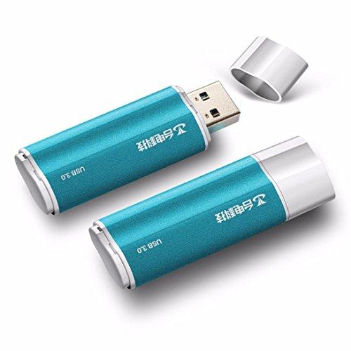 8 Chip Notebook Speicher (Kingko® USB 3.0 Hochgeschwindigkeits-Blitz-Antrieb Luxuxvolles Metalloberteil 16GB 32GB 64GB 128GB Antriebs-u-Scheibe (16GB))