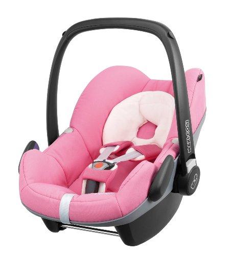 Maxi-Cosi Pebble Babyschale Gruppe 0+ (0-13 kg), Kollektion 2014, pink precious