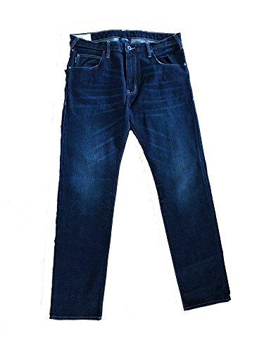 Armani Jeans - Pantalones vaqueros de ajuste entallado, talla 44 - 30W/34L