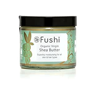 Fushi Organic Virgin Shea Butter 250g, RAW Unrefined Ghanaian