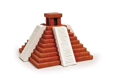 Clementoni-13819-Focus-Juego-de-construccin-de-pirmide-maya-Importado-de-Italia