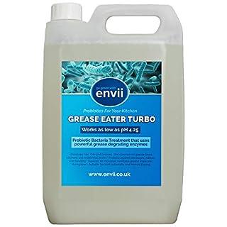 Fett Eater Turbo, 1x 5l, Fett erniedrigend, Enzyme, Abflussreiniger, Fett Trap instandhalter-Lieferung im lieferumfang enthalten