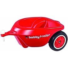 BIG Bobby-Car 56280 - Remolque para coche Bobby-Car, color rojo [importado de Alemania]