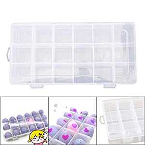 happy event Storage Organizer Carrying Box 18 Grids Case Holder For Hatchimals CollEGGtibles