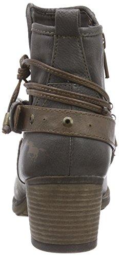 Mustang Damen Kurzschaft Stiefel Grau (20 dunkelgrau)