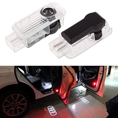 Autotür Willkommen Licht Fantasma Lampe Willkommen für Schatten des Projektors. 1 pack Audi
