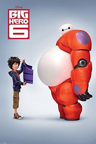 empireposter - Big Hero 6 - Teaser - Größe (cm), ca. 61x91,5 - Poster, NEU -
