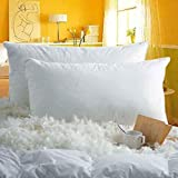 HONEYFEEL Indian Made No.1 Home Pillow 40% Goose Down 60% Feather Pillows for Sleeping Chamber Pillow (Set of 1) with…
