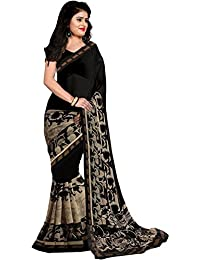 Raa Retail Cotton Silk Saree (Sc_Black_Beauty_Black)