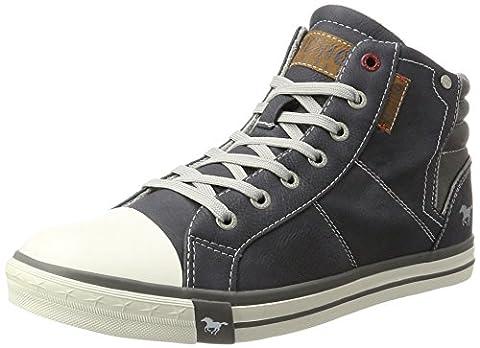 Mustang Herren 4096-601-800 Hohe Sneaker, Blau (Dunkelblau), 44 EU