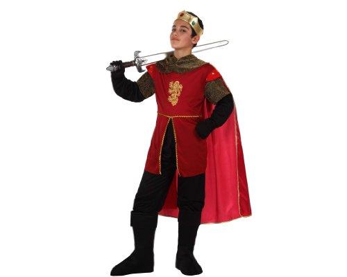 Atosa - Disfraz de rey para niño, talla 9-10 años 140 cm
