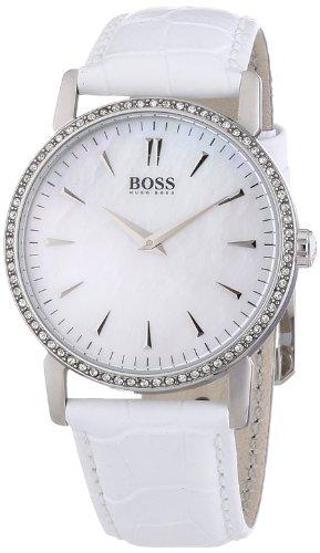 Hugo Boss Damen-Armbanduhr Analog Quarz Leder 1502302