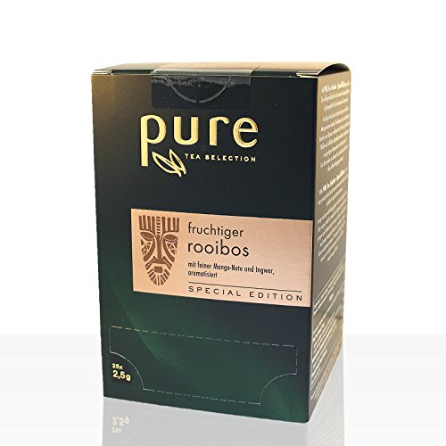 Pure Tea fruchtiger Rooibos 4 x 25 Beutel Tee, Special Edition
