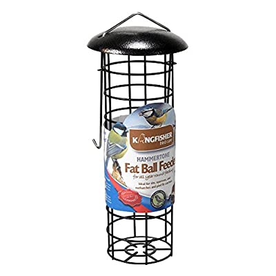 Kingfisher Premium Hammertone Finish Fat Ball Bird Feeder by King Fisher