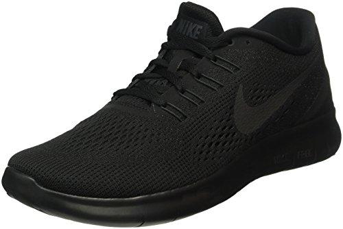 Nike Uomo Free RN Scarpe Running, Nero (Negro (Black / Black-Anthracite)), 40 EU
