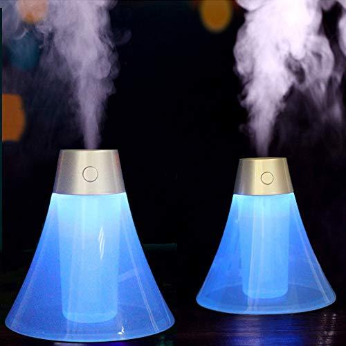 Luftbefeuchter Humidifier Heiß Spray Dampfmaschine Sprayer Diffuser Ultraschallvernebler Volcano Raumbefeuchter Nano-Dämpfende Zerstäuber Instrument Luftreiniger Hause Büro Auto USB