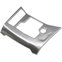 Cubierta de acero inoxidable para el marco del freno de mano electrónico interior mate 1 pieza