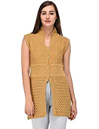 eWools Women Ladies Girls Winter Wear Woolen Cardigan