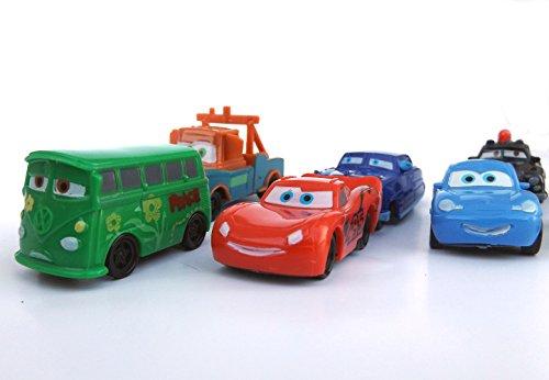 Brigamo ☺ 9 x CARS Spielzeugauto TORTENFIGUR für die Torte zum Kindergeburtstag, Tortendeko ☺