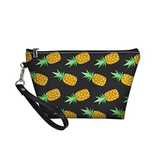 HONGYZSNB Gelbe Ananas 3D Gedruckte Damenhandtasche Der Reisespeicher-Kosmetiktasche