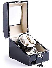 XTELARY Luxus Automatische Uhrenbeweger für 2+3 Uhren (X1232B-EU)