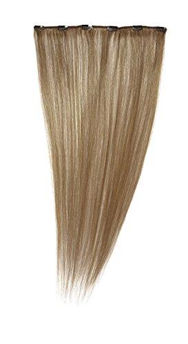 Love Hair Extensions - LHE/A1/QFC12/22/12 - 100 % Cheveux Naturels - Barrette Unique Extensions à Clipper - Couleur 12 - Brun Doré - 56 cm