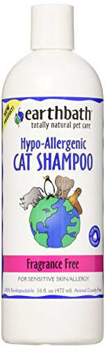EARTH BATH Earthbath Katzen-Shampoo, Hypoallergen, parfümfrei, 472 ml -