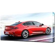 2018 Opel Insignia GSi V3 - Reproducción Lienzo - Arte Enmarcado Impresión ...