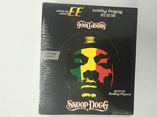 echtem Snoop Dogg King Size Slim ZIGARETTE RAUCHEN Zigarettenpapier 50bookletscheap Schnell Versand am gleichen Tag nach Zahlung wird gelöscht