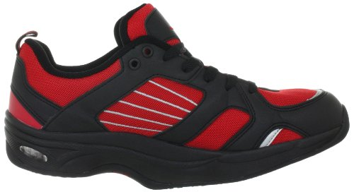 Chung Shi AuBioRiG Balance Step Promo 9100130 Herren Sportschuhe - Walking Rot (Rot/Schwarz)