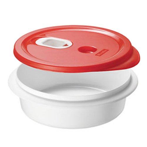 rotho-mikrowellengeschirr-micro-clever-tiefer-teller-mit-deckel-auslaufsicher-geeignet-fur-flussige-