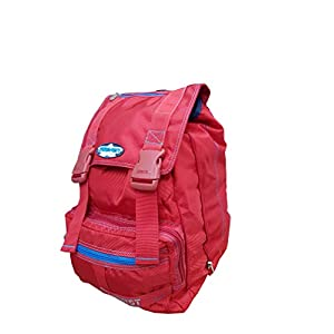 41SYycUWWhL. SS300  - Seven - Mochila Escolar Americana con Orificio para Cable USB (42 x 31 x 17 cm), Color Rojo